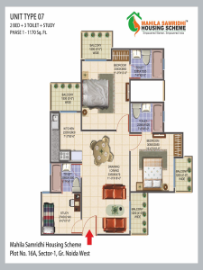 Mahila Samridhi Housing Floor Plan , Mahila Samridhi Housing
