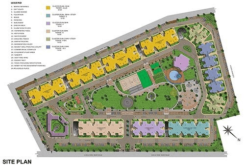 ace city site plan , ace city noida extension