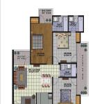 amrapali golf homes floor plan , amrapali golf homes