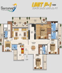 dev sai sports home floor plan , dev sai sports home