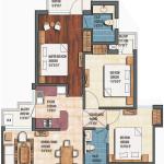 earthcon sanskriti floor plan , earthcon sanskriti