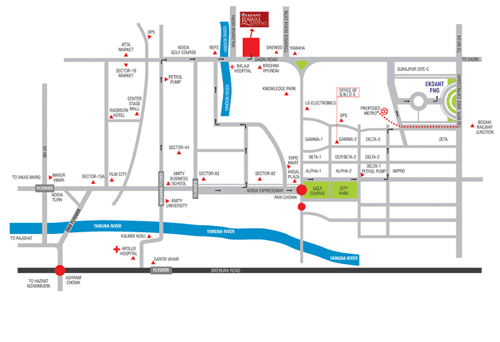 ekdant rawal residency location map , ekdant rawal residency