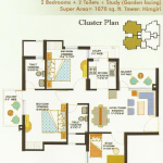 eros sampoornam floor plan , eros sampoornam
