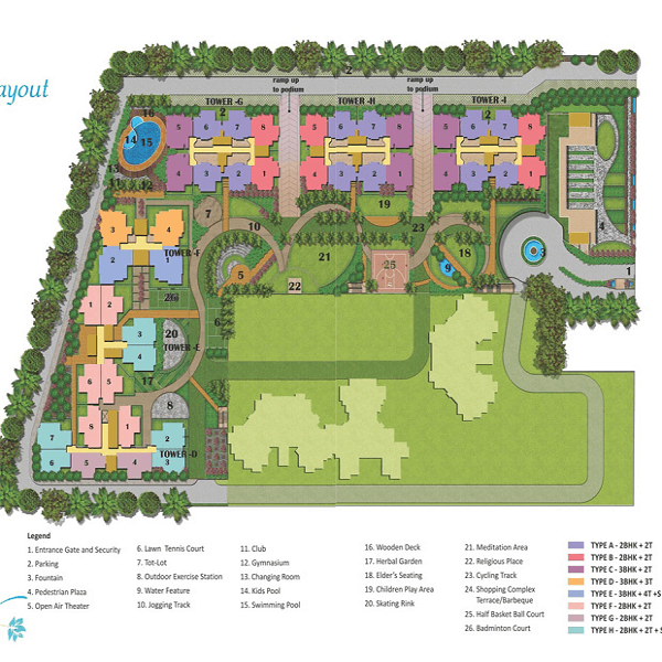 future estate site plan , future estate