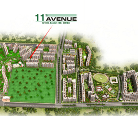 gaur city 11th avenue image