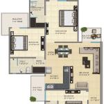 gaur city 1st avenue floor plan , gaur city 1st avenue