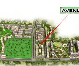 gaur city 1st avenue image