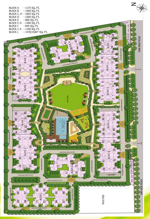 gaur city 1st avenue site plan , gaur city 1st avenue