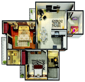 gaur city 4th avenue floor plan , gaur city 4th avenue
