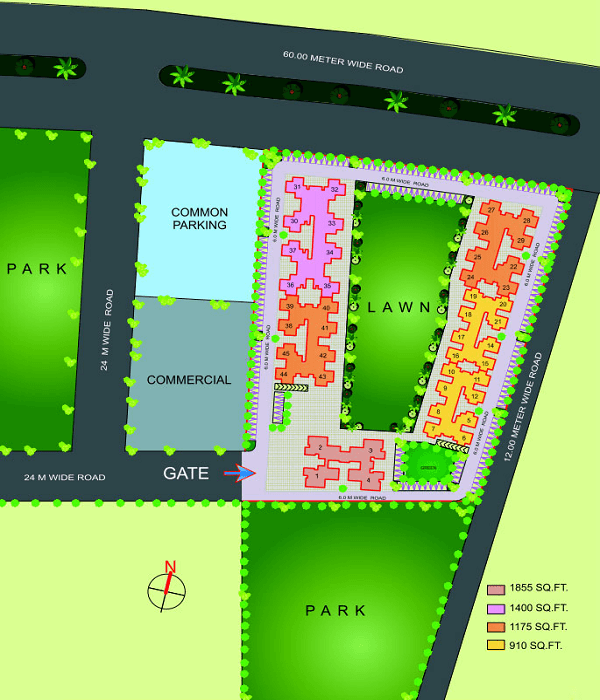 gaur city 4th avenue site plan , gaur city 4th avenue