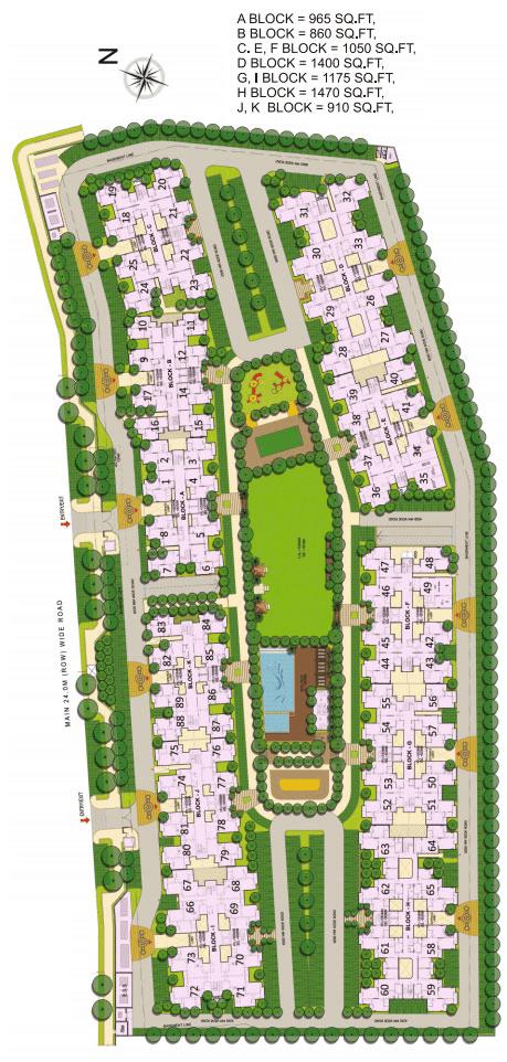 gaur city 5th avenue site plan , gaur city 5th avenue