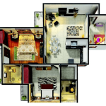 gaur city 6th avenue floor plan , gaur city 6th avenue