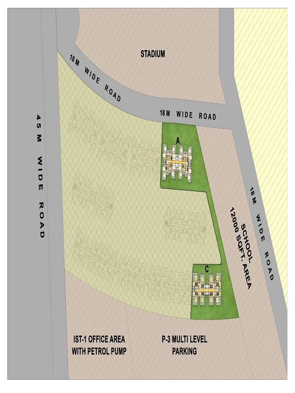 gaur city 7th avenue site plan , gaur city 7th avenue