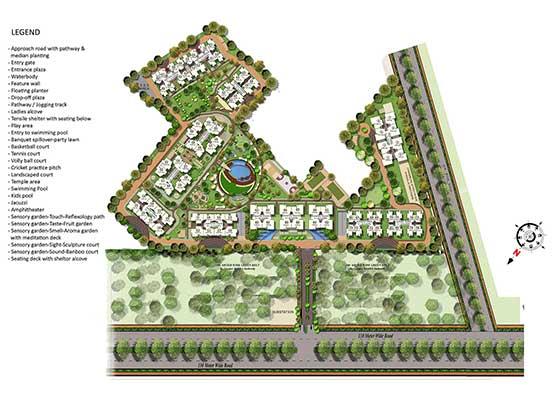 gaur saundaryam site plan , gaur saundaryam