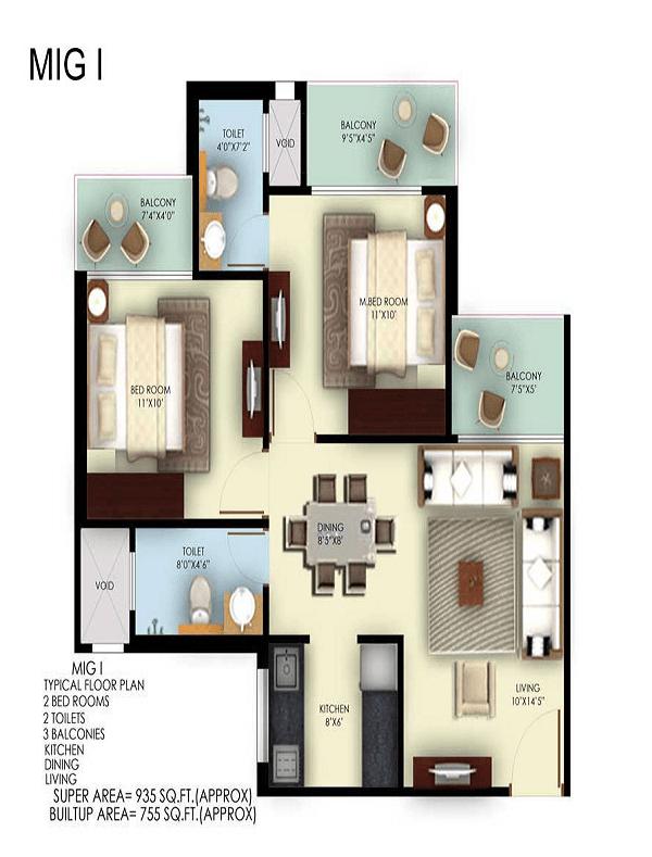 mahagun mywoods phase 3 floor plan , mahagun mywoods phase 3