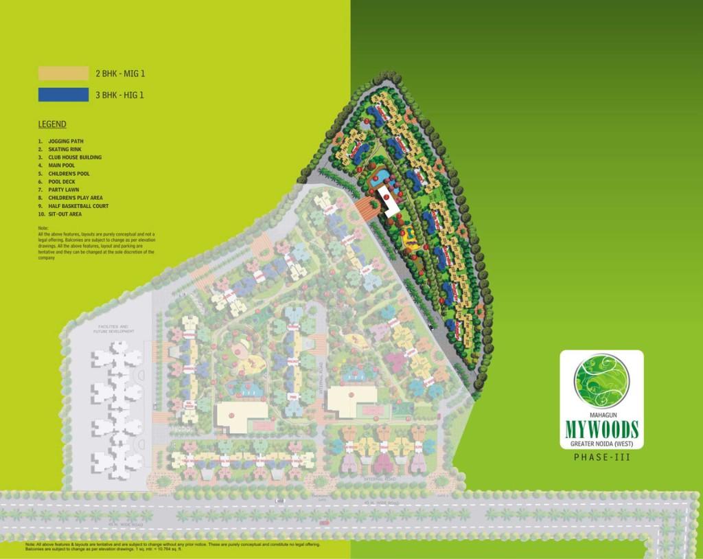 mahagun mywoods phase 3 site plan , mahagun mywoods phase 3