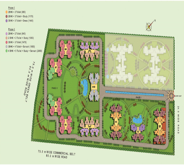 mahila samridhi housing site plan , mahila samridhi housing