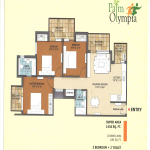 palm olympia floor plan , palm olympia
