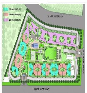 raj residency site plan
