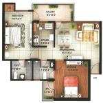 rajresidency floor plan , rajresidency noida extension