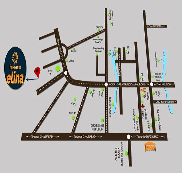 resizone elina location map , resizone elina