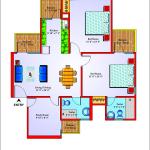 unibera floor plan , unibera noida extension