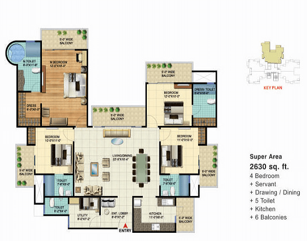 VVIP Home Meridian Towers Noida Extension