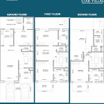 aarcity star villas floor plan , aarcity star villas