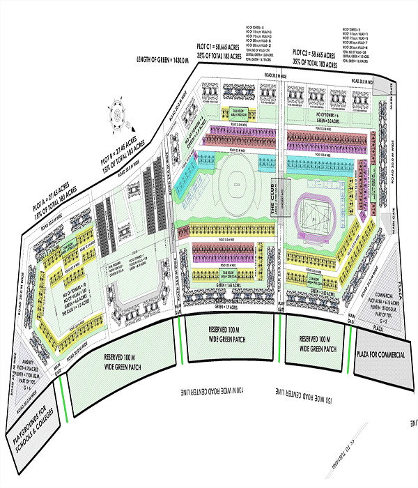 aarcity star villas site plan , aarcity star villas