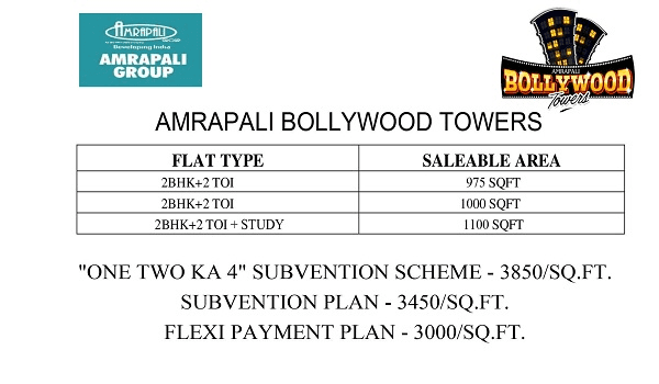 amrapali bollywood twoers price list , amrapali bollywood twoers