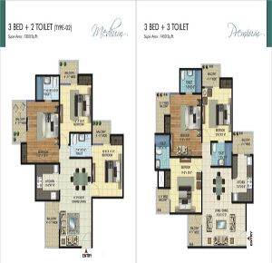 amrapali ivory heights floor plan , amrapali ivory heights