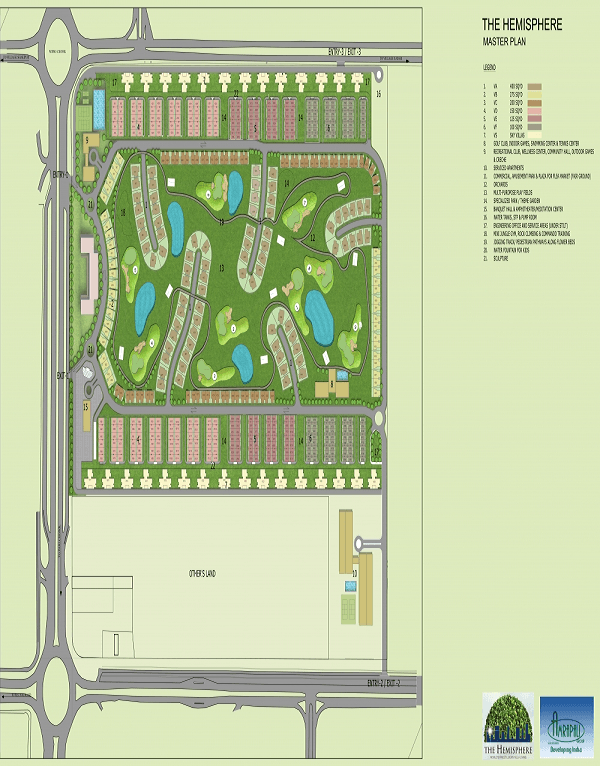 amrapali the hemisphare site plan , amrapali the hemisphare