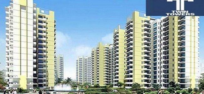 amrapali twin towers image