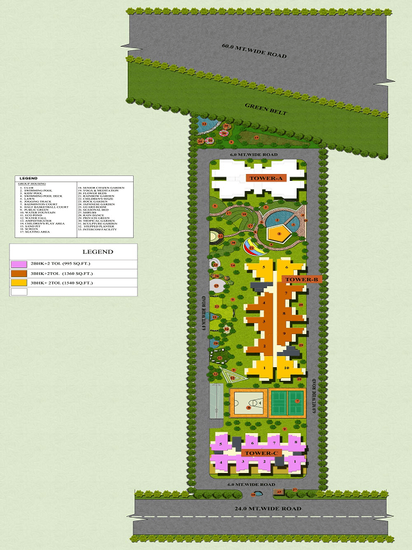 apple orchid site plan , apple orchid