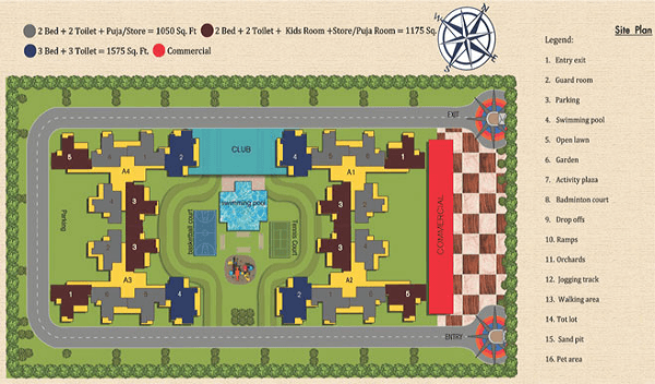 geotech blessings site plan , geotech blessings
