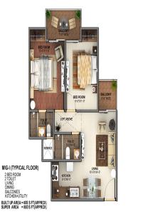 mahagun mantra 2 floor plan , mahagun mantra 2
