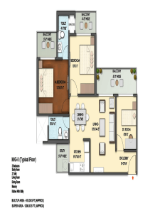 mahagun mantra floor plan , mahagun mantra