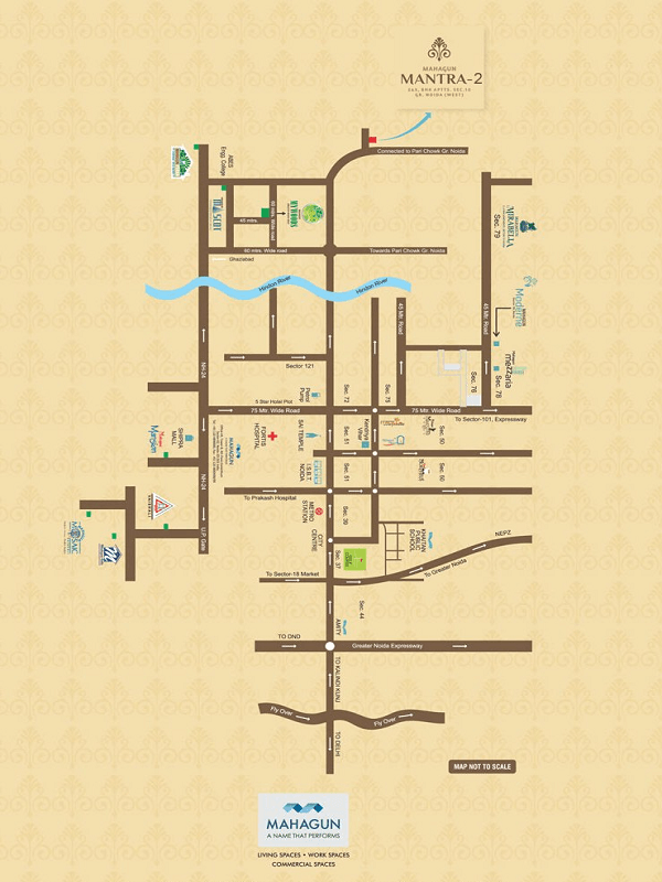 mahagun mantra location map , mahagun mantra