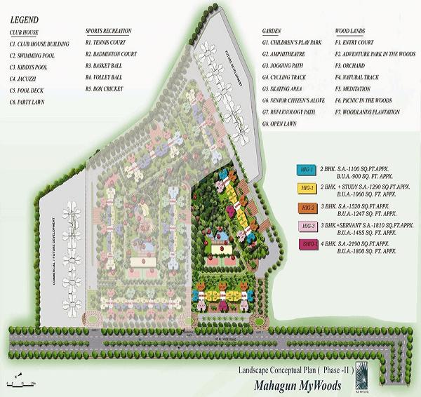 mahagun mywoods phase 2 site plan , mahagun mywoods phase 2