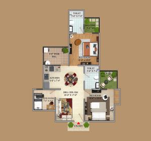 migsun green mansion floor plan , migsun green mansion