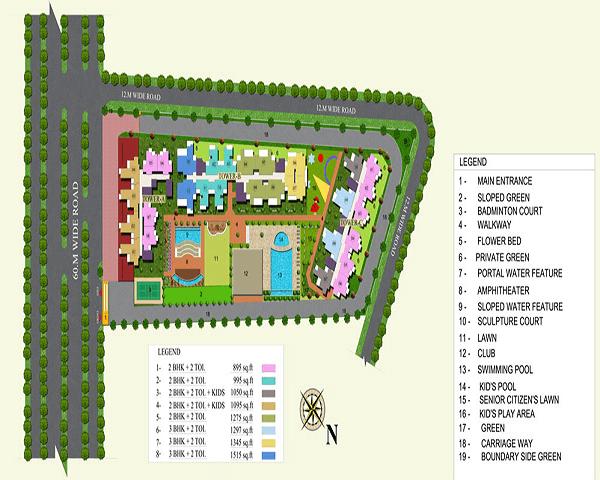 migsun green mansion site plan , migsun green mansion