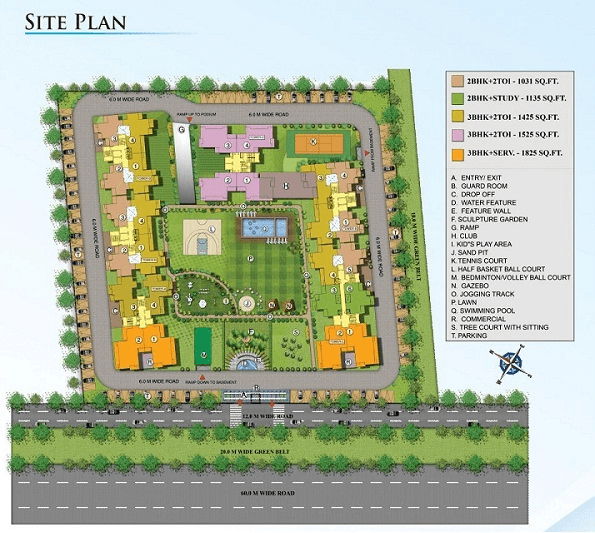 nirala splendora site plan , nirala splendora