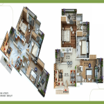 omkar royal nest floor plan , omkar royal nest