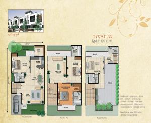 pansheel villas floor plan , pansheel villas