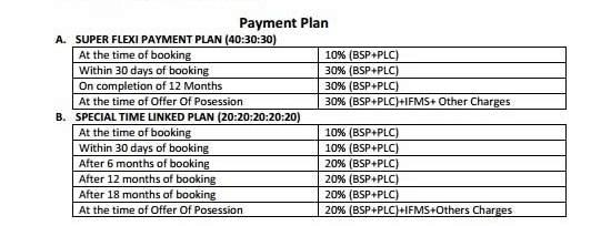pansheel villas payment plan , pansheel villas