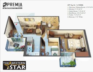 premia the western star floor plan , premia the western star