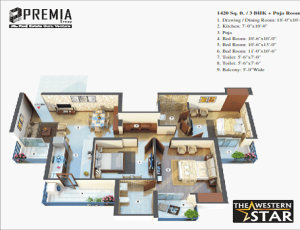 premia the western star floor plan , premia the western star