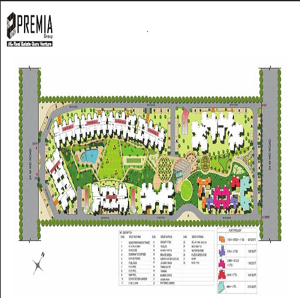 premia the western star site plan , premia the western star