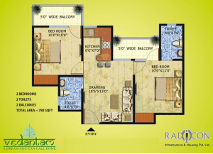 radicon vedantam floor plan , radicon vedantam