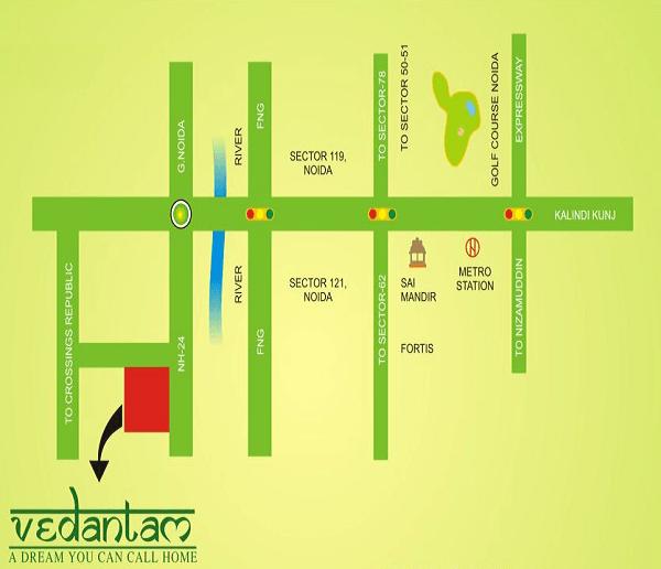 radicon vedantam location map , radicon vedantam